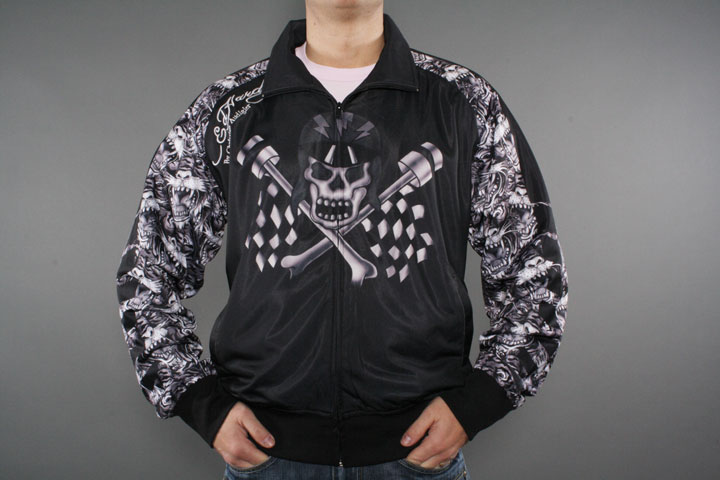 Flag Skull Trackjacket