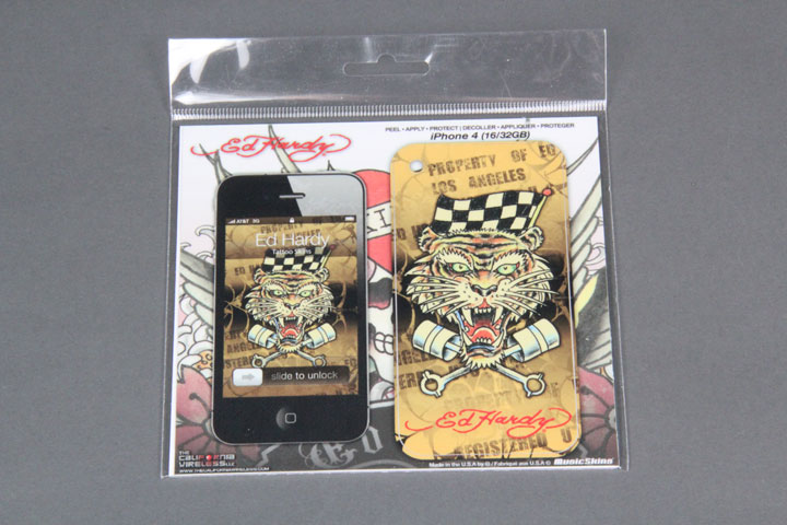 Race Tiger Tattoo Skin