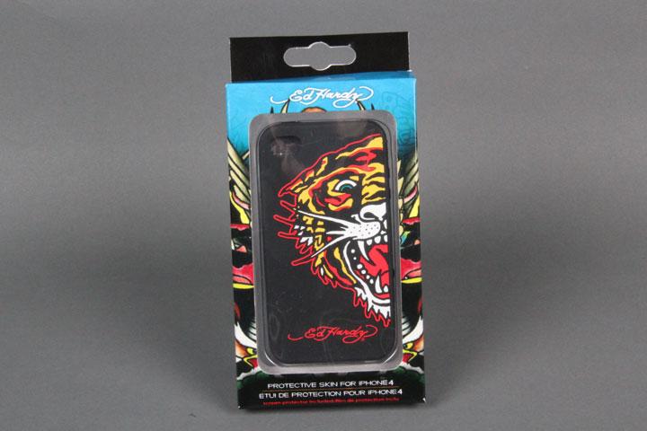 Tiger Black Gel Case