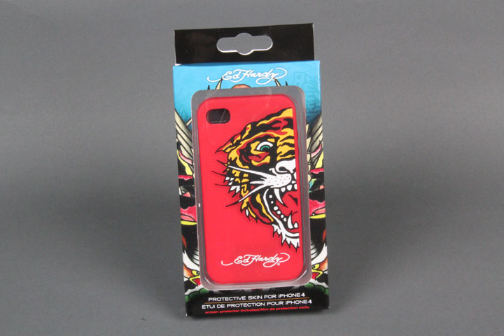 Tiger Red Gel Case