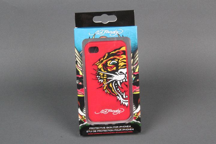 Tiger Red Gel Case
