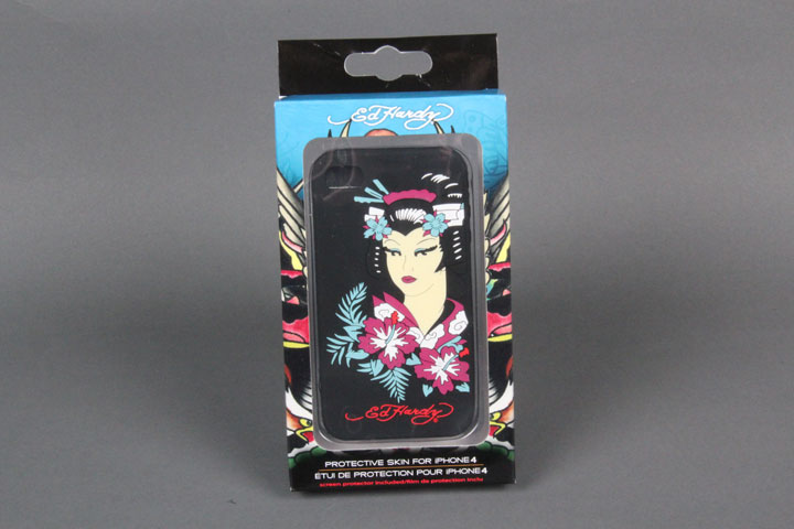 Geisha Black Gel Case