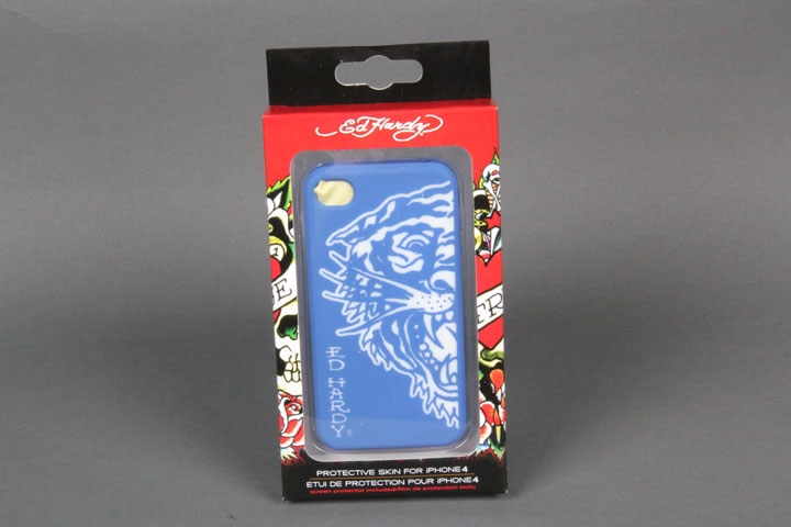 Tiger Blue/White Gel Case