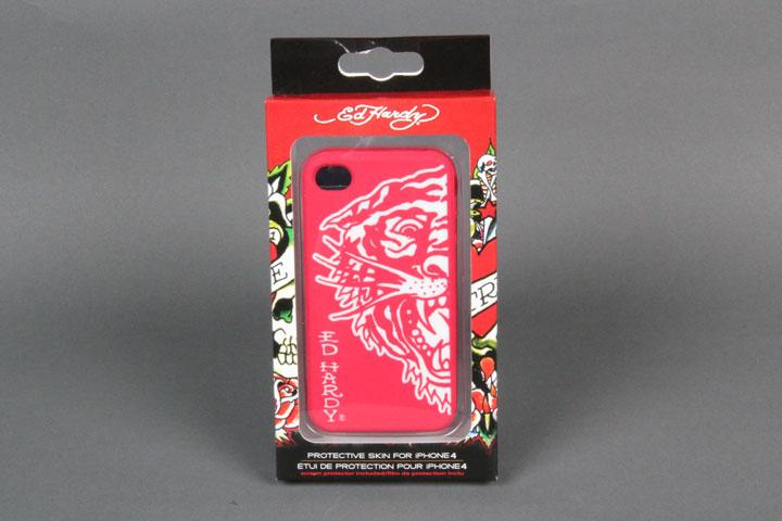 Tiger Red/White Gel Case