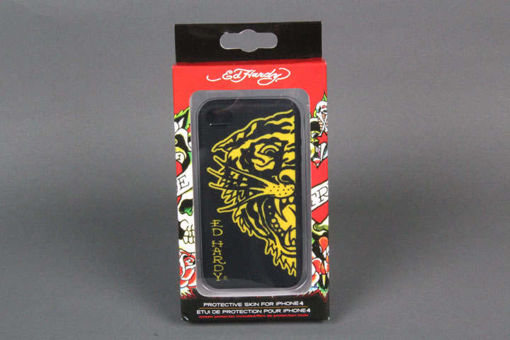 Tiger Black/Yellow Gel Case