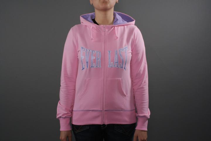 Hoodie Zip Pink