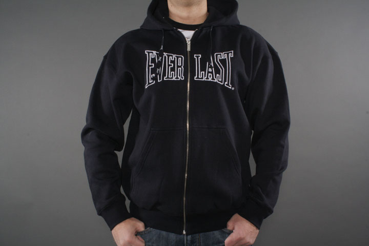 Zip Up Hood Dark
