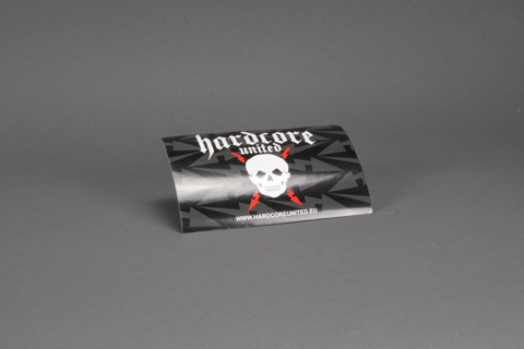 Skull Sticker Hardcore United