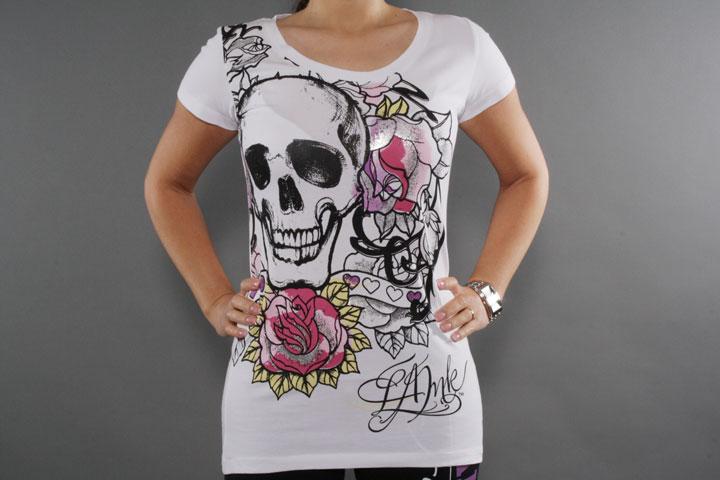 Roses Ink White