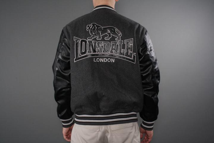 Lonsdale Baseball Jacket Oxford | streetify.se