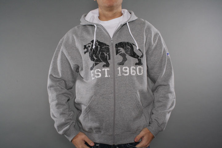 Lion Est Hooded Zipper