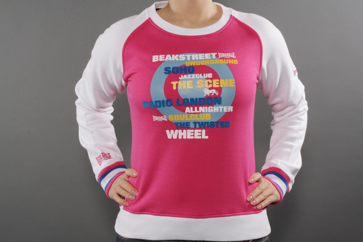 Radio Raglan Sweat