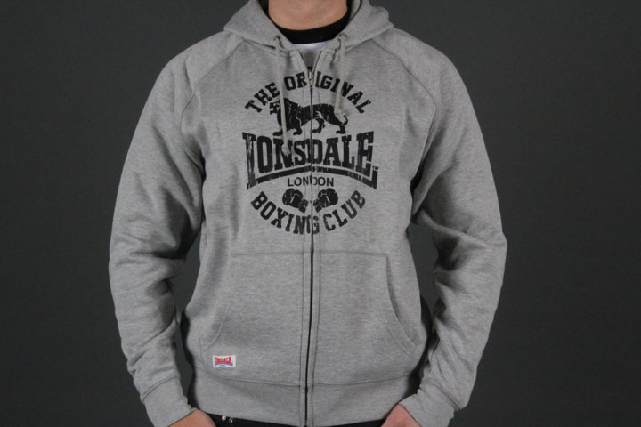 Club Logo Hooded Zip