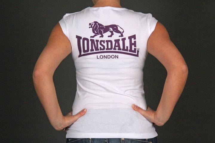 Lonsdale - Acton Ladies T-Shirt White