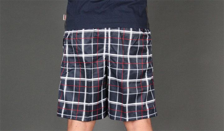 Lonsdale - Tartan Beach Shorts