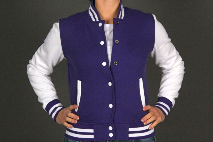 2Tone C.Sweatjacket TB218 Purple