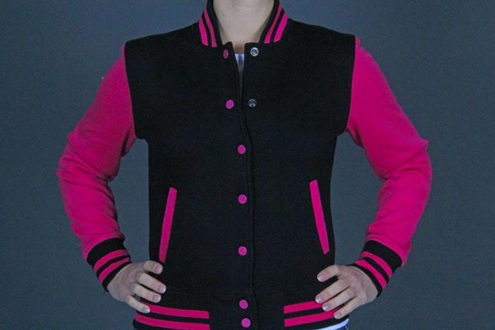 2Tone C.Sweatjacket TB218 Pink